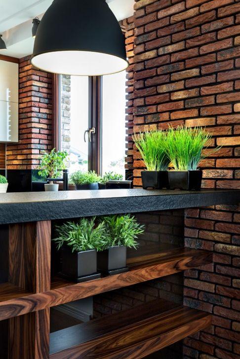 Brick Vigo Meble Kuchenne Olkusz I Chrzanow House Design Italian Kitchen Design Brick Interior