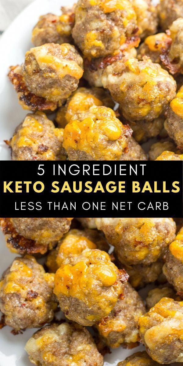 5 Ingredient Keto Sausage Balls - The Best Keto Recipes