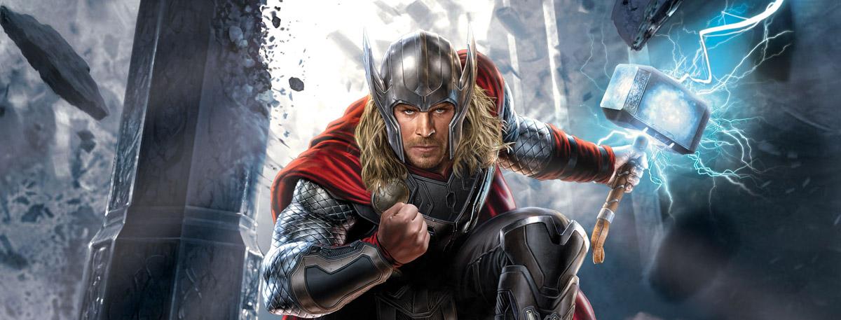 New Thor The Dark World Promo Art Surfaces Thor Sinopse Personagens De Quadrinhos