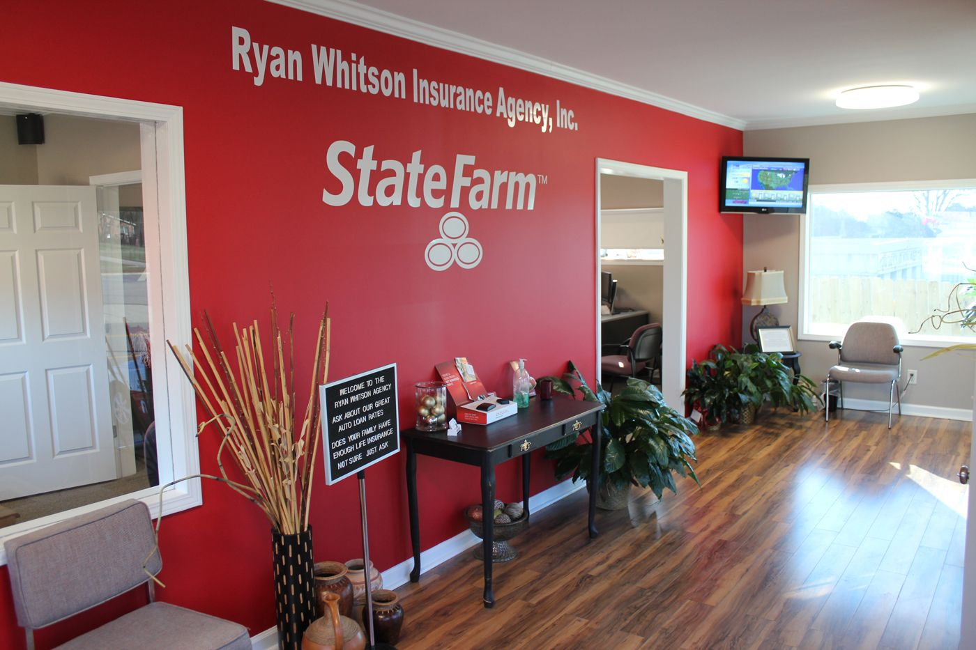 Ryan whitson state farm page one seo tuscaloosa al for Decor agency