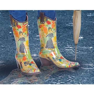 Cowboy Rain Boots - Femail Creations