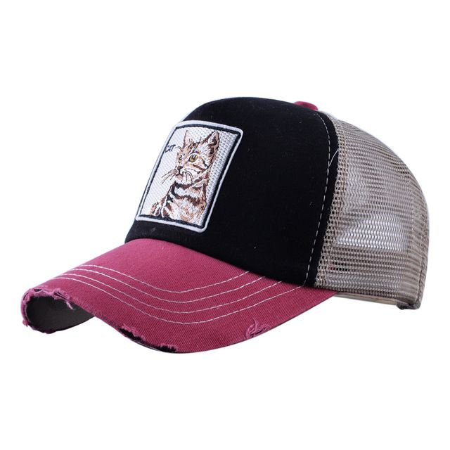 Parent-Child Baseball Caps Hip Pop Streetwear Snapback Summer Trucker Dad Hat
