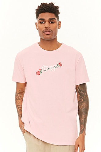 9d03041b8 Rose Graphic Tee | Forever 21 | Clothes I like | Mens tops, Mens ...