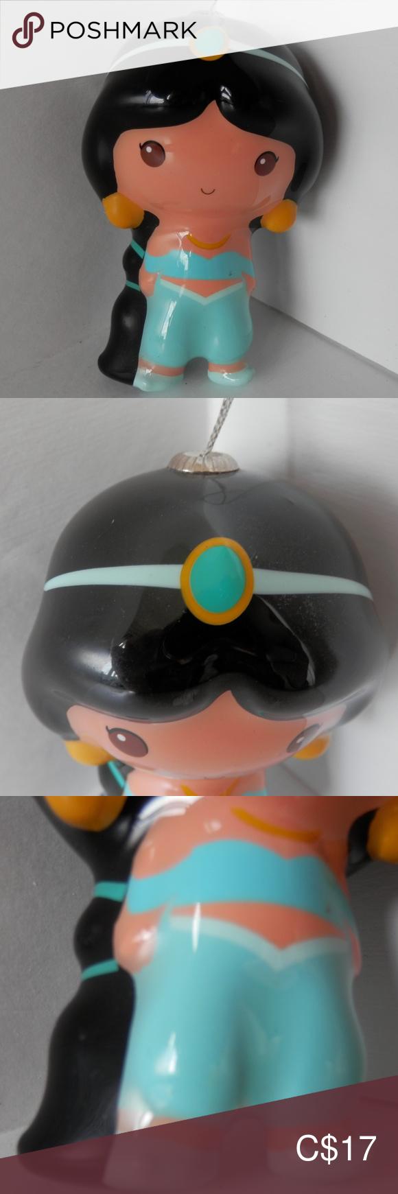 HALLMARK Disney Aladdin Jasmine Xmas Ornament in 2020