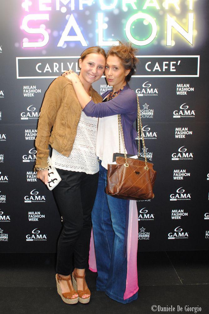 17/09/2013 GAMA Temporary Salon at Milan Fashion Week! #VFNO2013 #mfw #milanofashionweek #gama #gamaitalia #capelli #hair #gamaprofessional