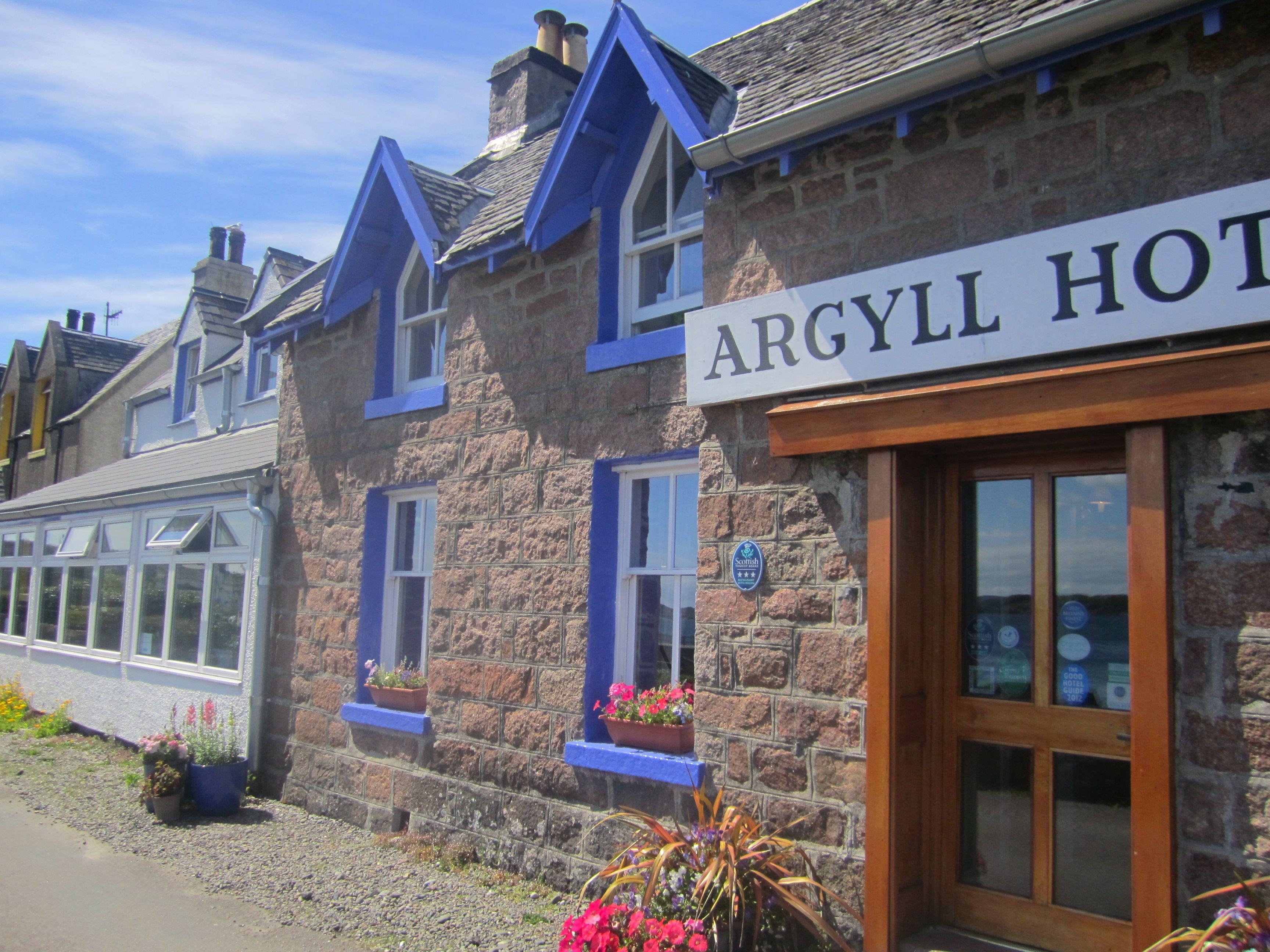 Argyll Hotel Isle Of Iona Scotland Travel Places In