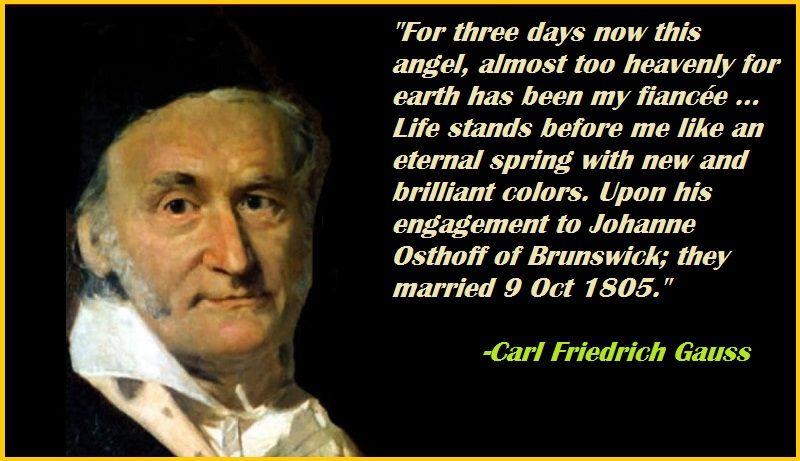 Motivational Carl Friedrich Gauss Quotes Carl Friedrich