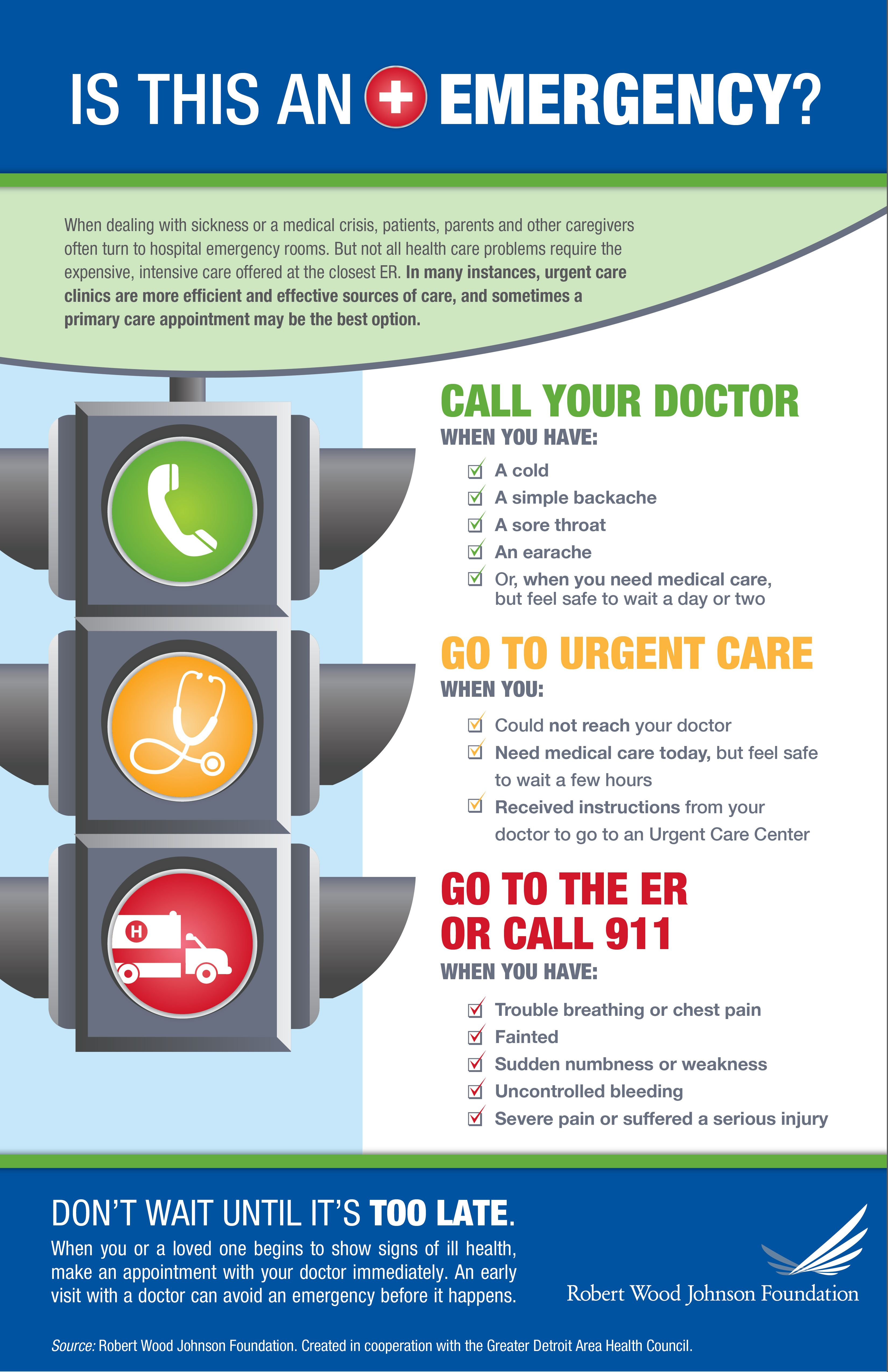 Stop Light Infographic good use of color to create