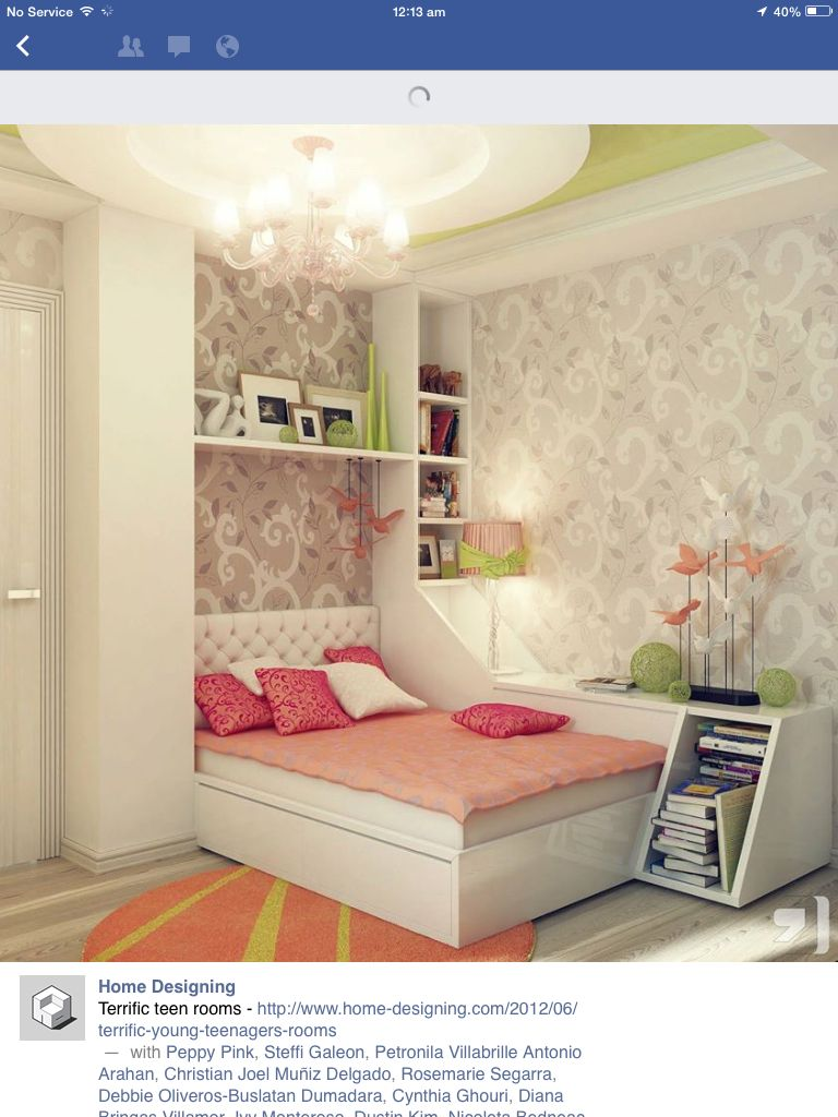 Teen rooms services home