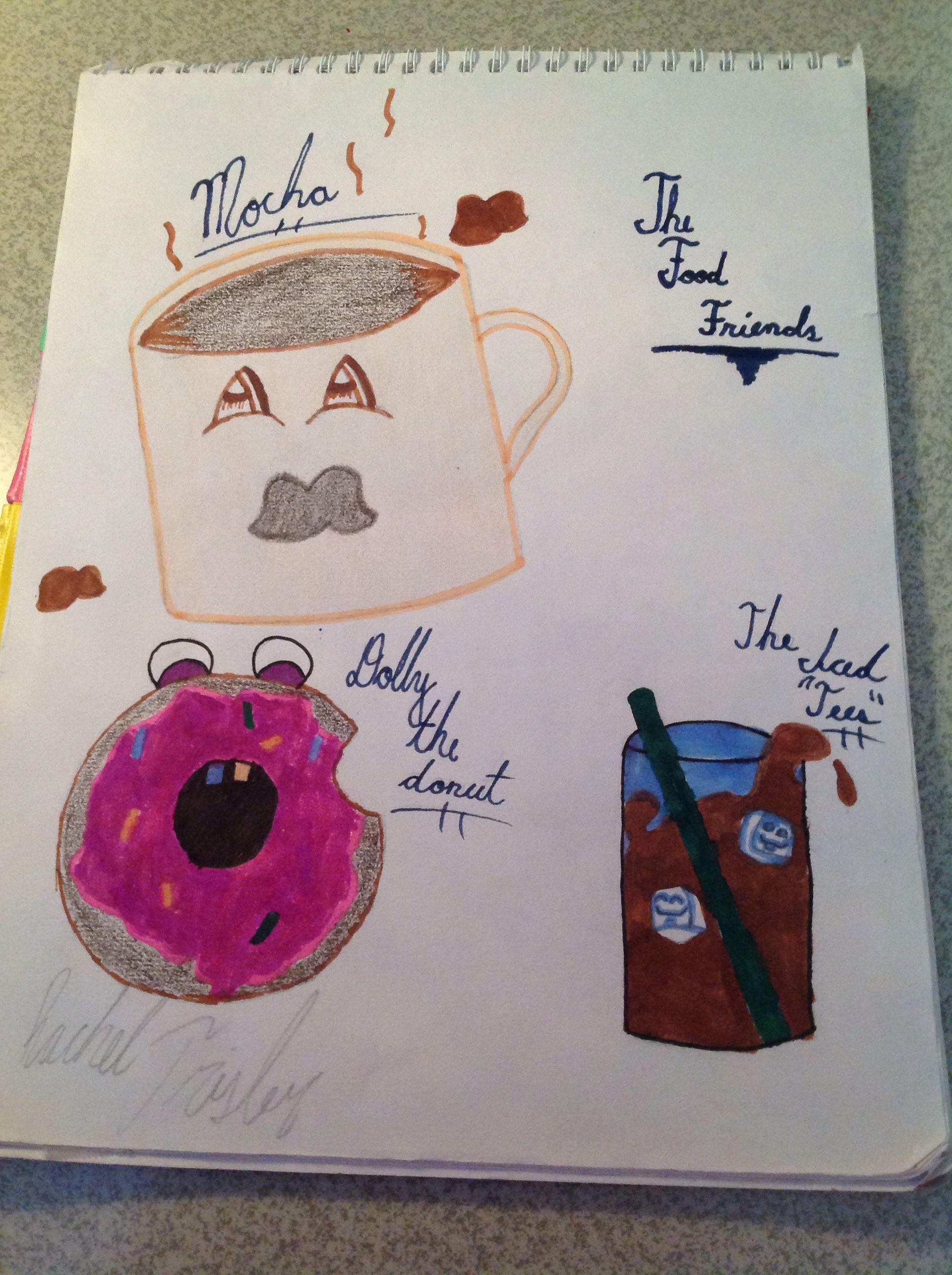 The food friends! -Racheltwizzler