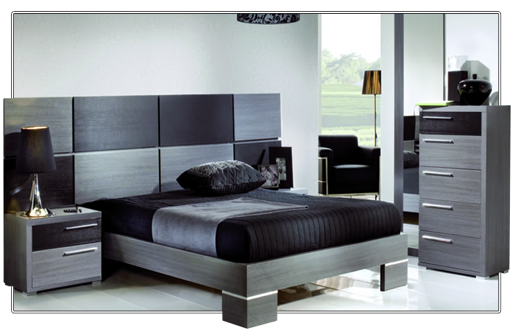 Dormitorio de matrimonio moderno dormitorios matrimonio - Rapimueble cabeceros ...
