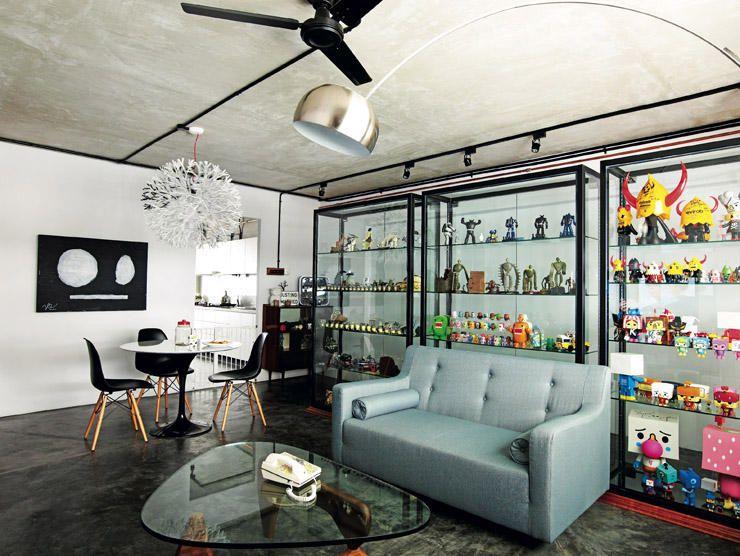 Living Room Full Of Toys