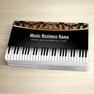 Music business card templates music business card templates music business card templates accmission Choice Image