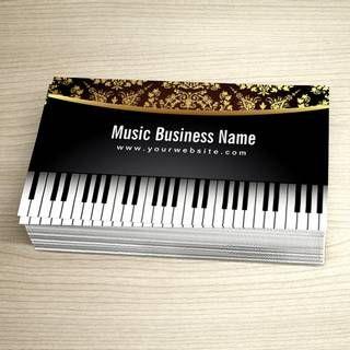 Musicbusinesscardtemplates Music Business Card Templates - Music business cards templates free