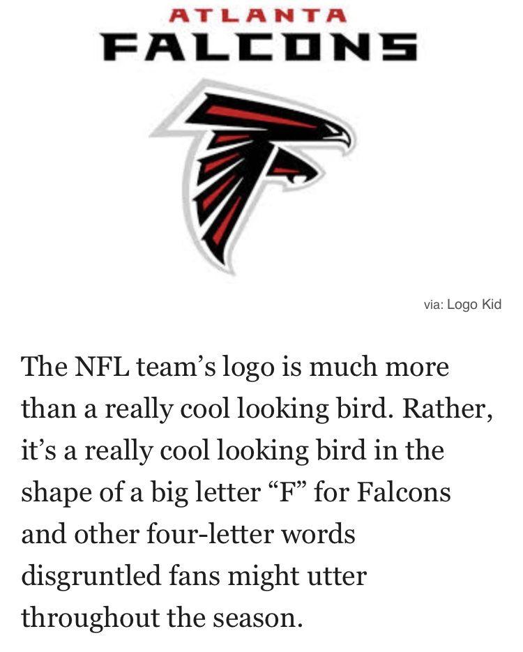 Falcons Nfl Teams Logos Kids Logo Big Letters