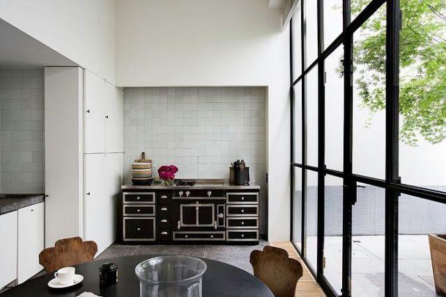 Vincent Van Duysen\u0027s Home In Antwerp Minimalist kitchen and