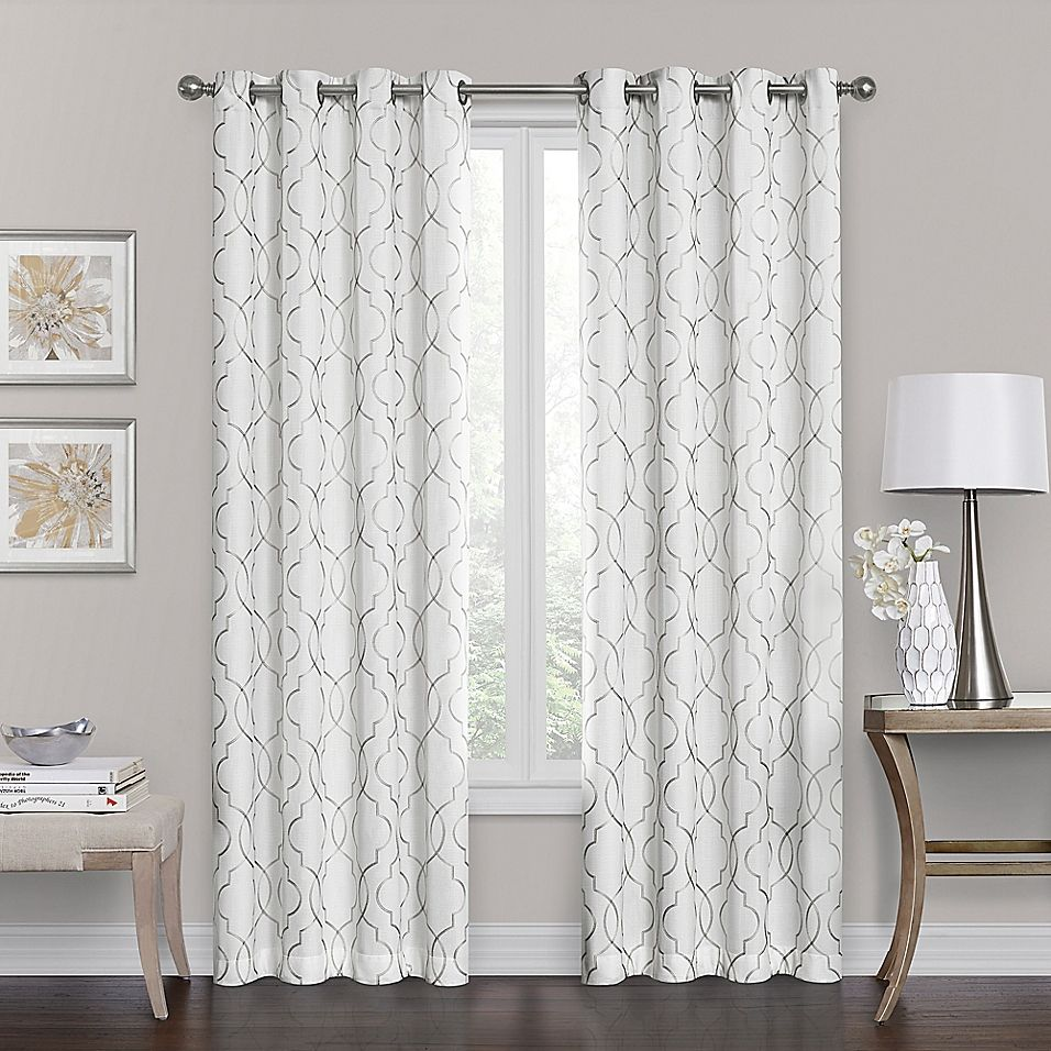 Brent Grommet 100 Blackout 95 Inch Window Curtain Panel In White With Images Living Room Decor Curtains Panel Curtains Window Curtains