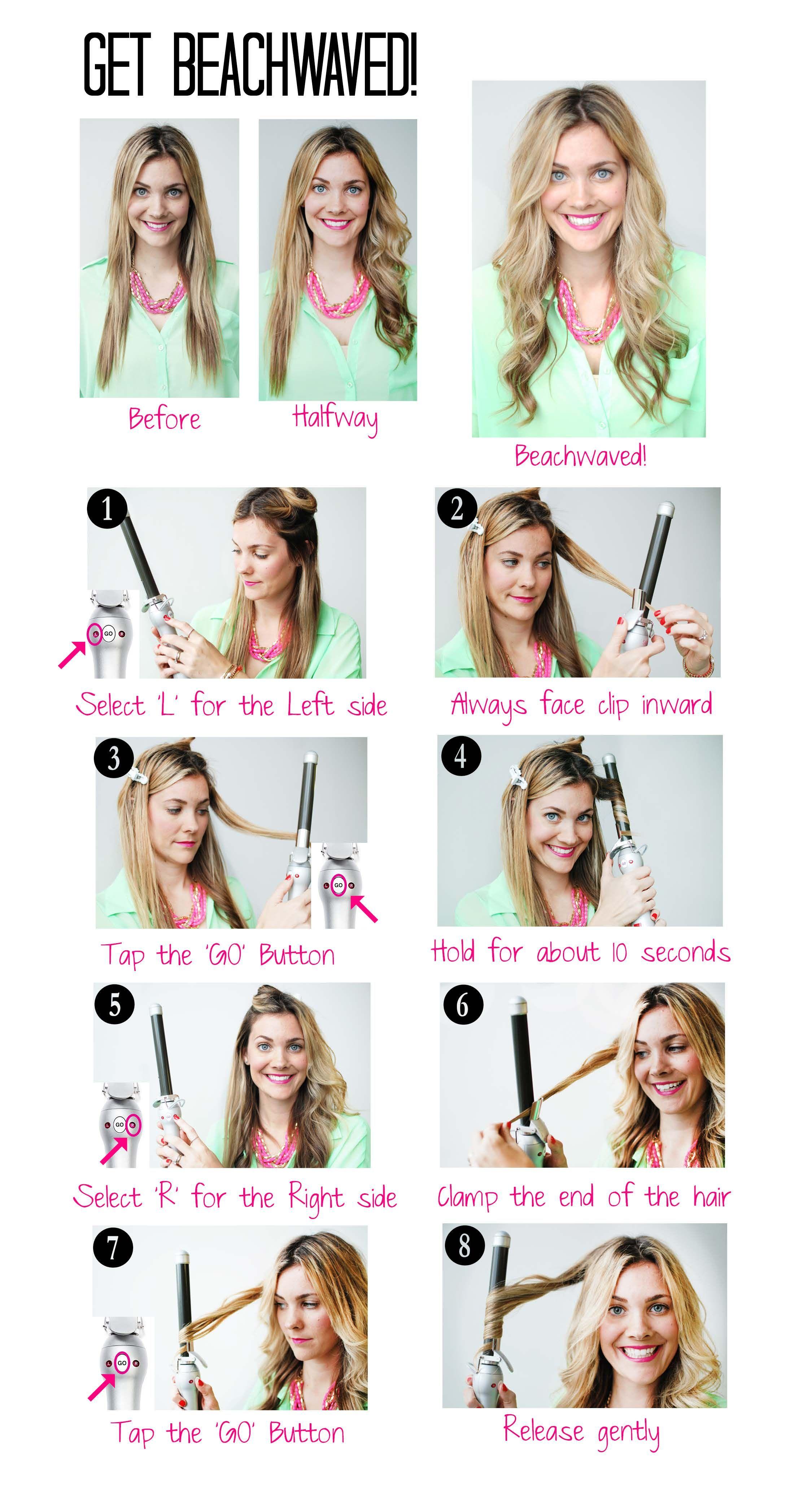 Beachwaver Hair Curling Tips Curls For Long Hair Long Hair Styles