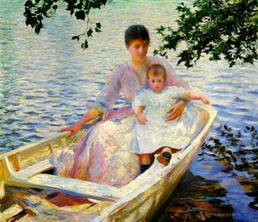 Mother and Child...Edmund Tarbell