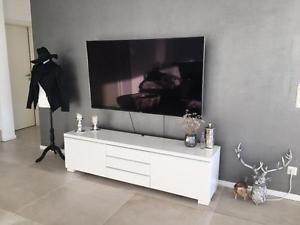 Ikea Besta Burs Tv Bench In High Gloss White City Of Toronto Toronto