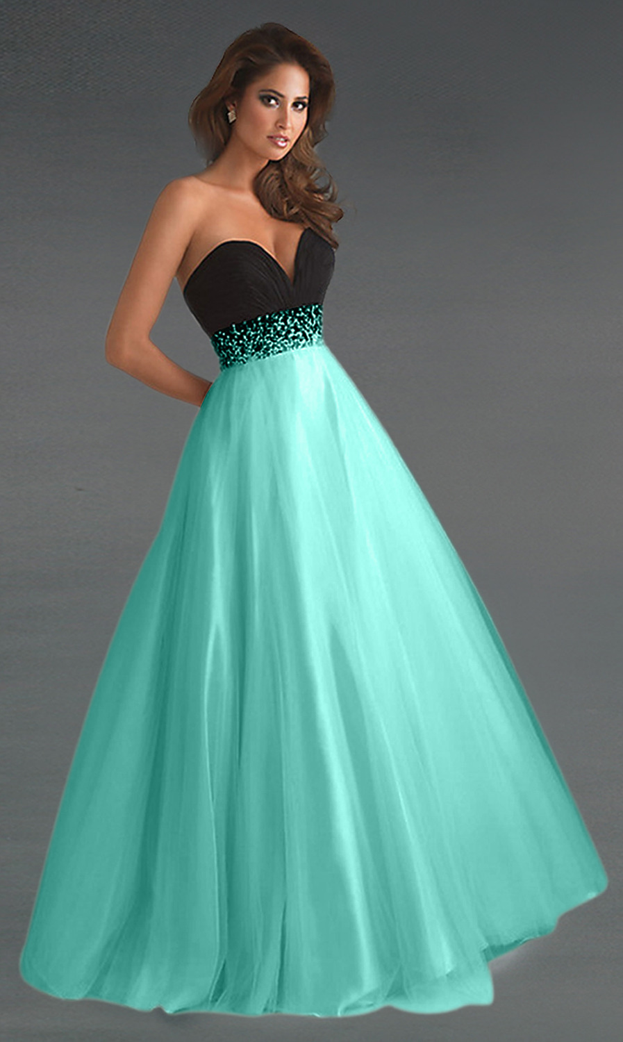 Different Types of Beautiful Long Prom Dresses | dresses ...