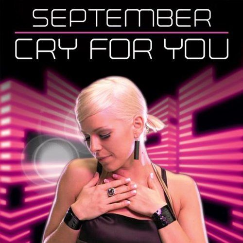 September – Cry for You (single cover art)