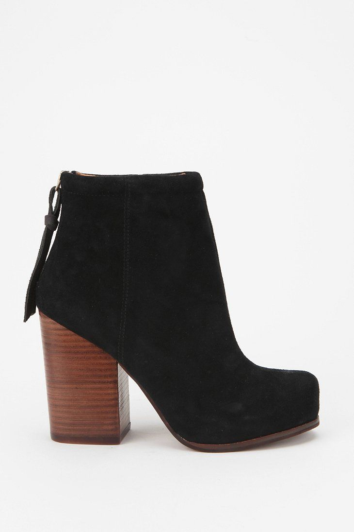 Jeffrey Campbell Suede Rumble Boot Direct link, but very expensive - I would like some like it