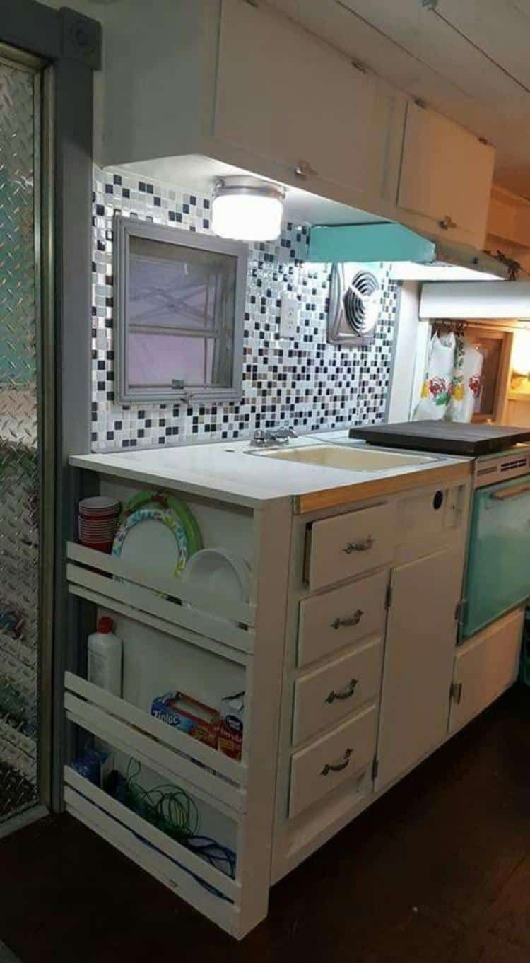 ca8e975d458 These 13 camping storage ideas are THE BEST! I m so happy I found these  AMAZING camping organization hacks! Now