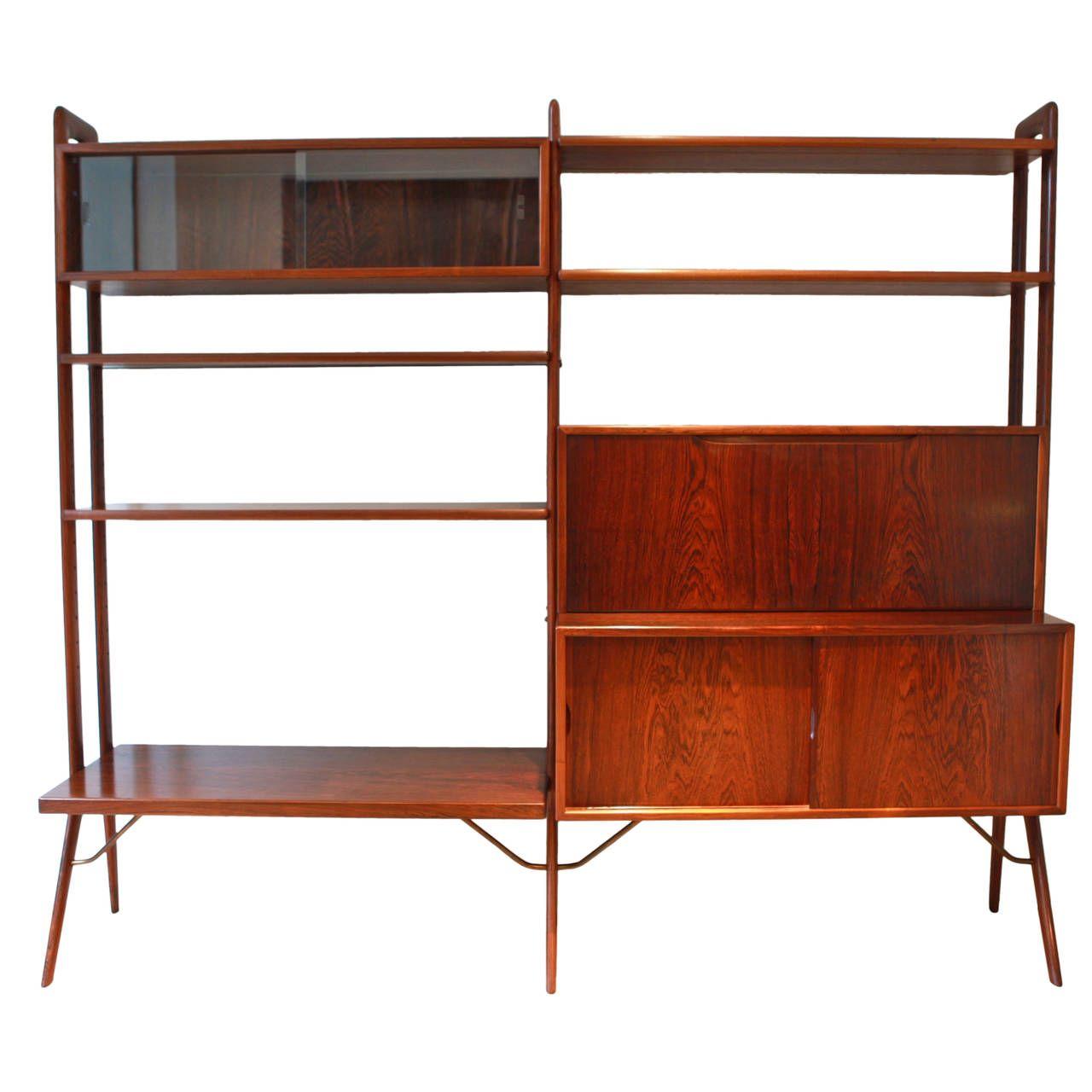 Kurt Ostervig Freestanding Rosewood Bookshelf 1