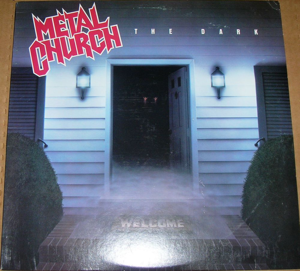 "Metal Church ""The Dark"" 1986 EX Vinyl Record"