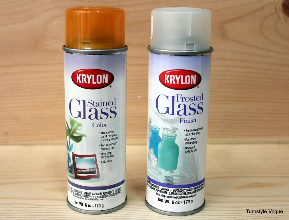 Dishwasher Safe Spray Paint Glass