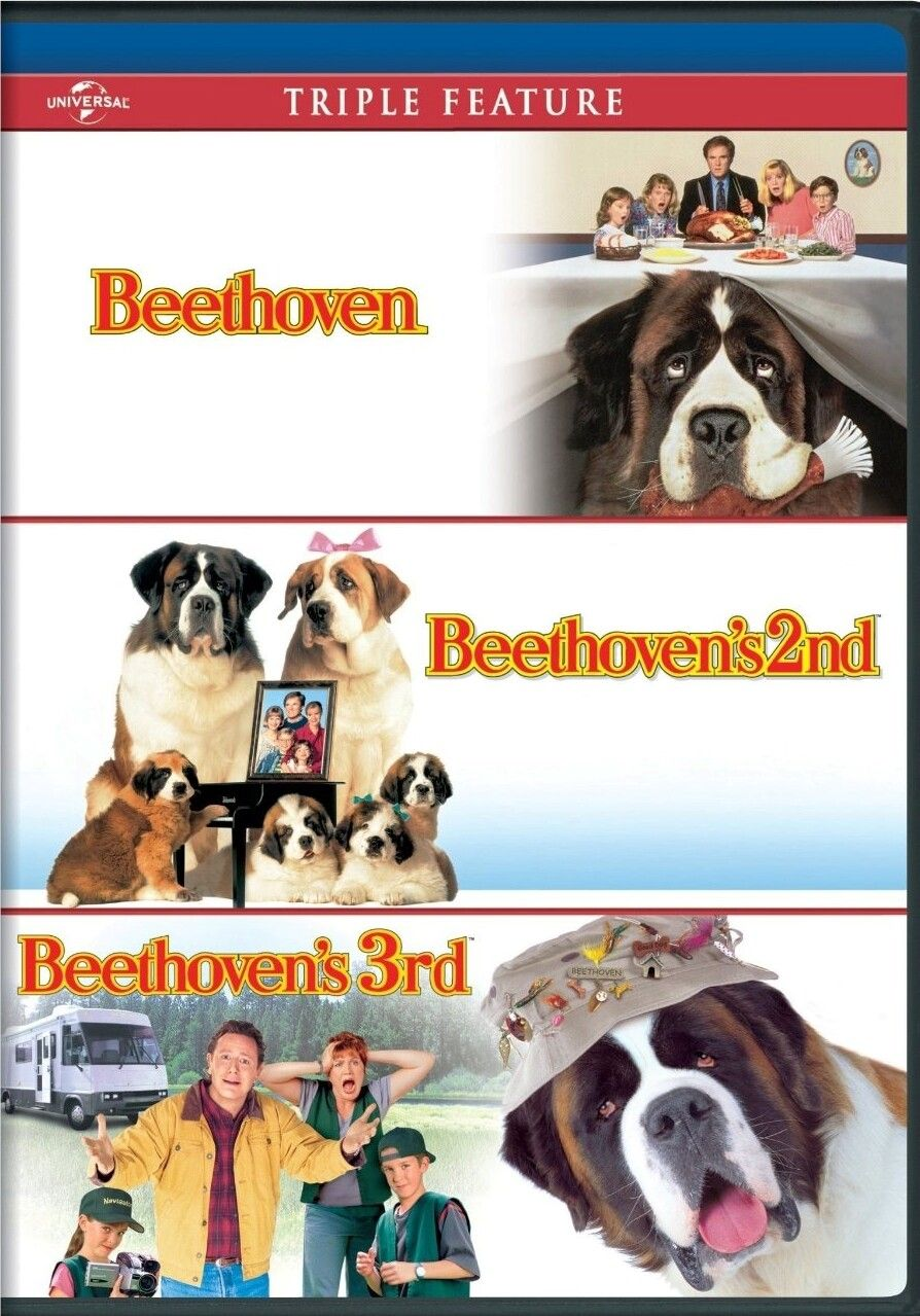 Beethoven 1992 Beethoven S 2nd 1993 Beethoven S 3rd 2000 Bonnie Hunt Beethoven Movie