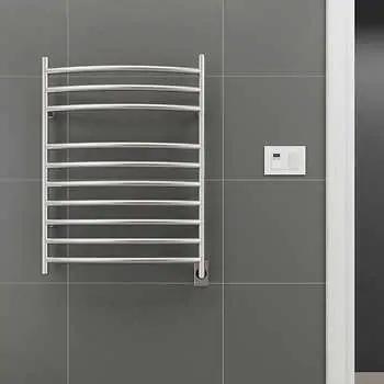 Pin By Sarah Higgins On Dad S Bathroom Renovation In 2020 Electric Towel Warmer Towel Warmer Heated Towel Rack