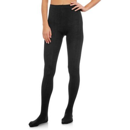 a535492441000 Secret Treasures Fleece Lined Footed Tights - 2 Pack, Black ...