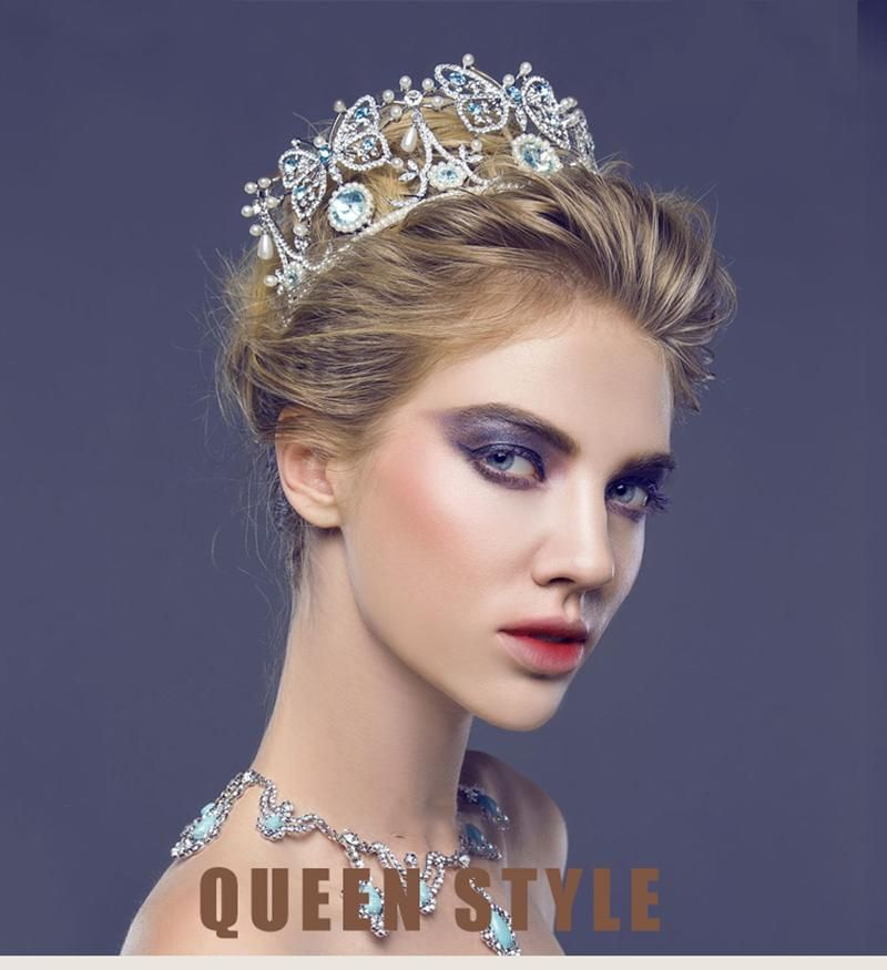 Hairstyles With Crown Queen: Rhinestone Headband, Queens Tiaras
