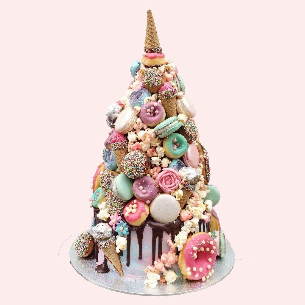Everything You Need To Know About Wedding Cake: Unicorn Wedding, Amazing Cakes, Croquembouche