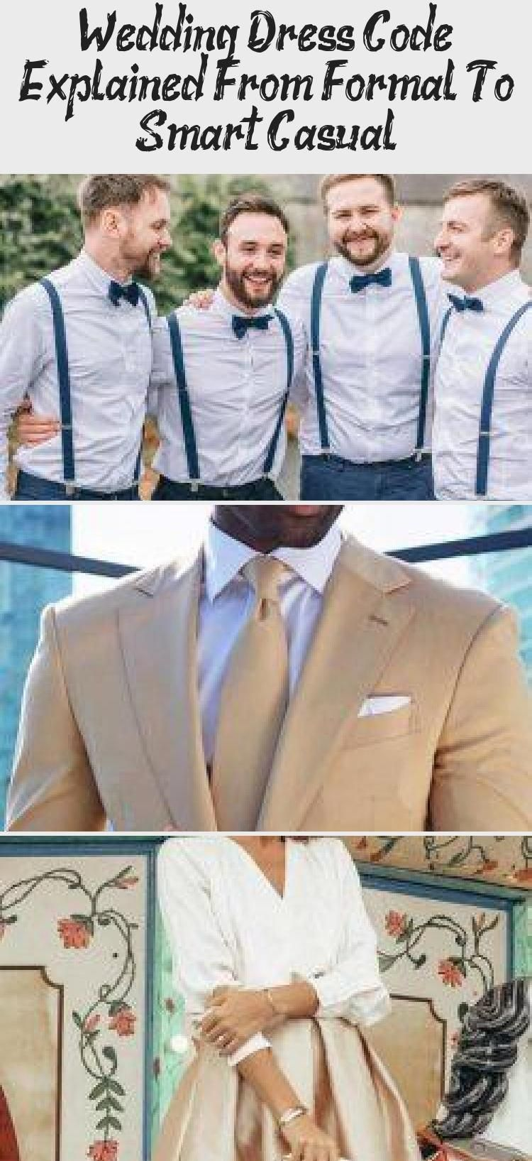 Wedding Dress Code Explained From Formal To Smart Casual Clothing Dress Dress Code Wedding Casual Wedding Attire Smart Casual Dress [ 1635 x 750 Pixel ]