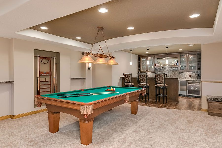 basement pool table. Interesting Basement Basement Wet Bar Pool Table To Basement Pool Table
