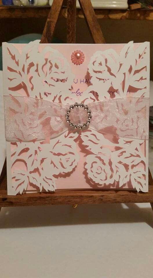 Anna Griffin gatefold card. By Virginia Montes. | CARD1 | Pinterest ...
