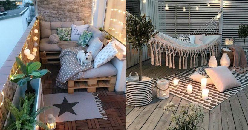 15 Ideas Increibles Para Decorar Tu Balcon Con Imagenes Decoracion De Terrazas Pequenas Decorar Balcon Pequeno Decorar Balcon