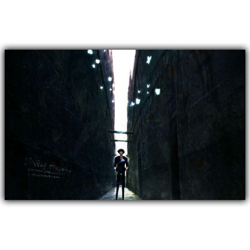 Encontrar Más Pintura y Caligrafía Información acerca de Cartel cita Dormitorio Decorado COWBOY BEBOP Animado Posters Pico Entre Dos Paredes Hacia El Cielo DM033, alta calidad quote poster, China cowboy bebop Proveedores, barato cowboy bebop poster de Bianche Wall Art Store en Aliexpress.com