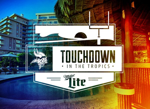Touchdown in the Tropics Logo on Behance