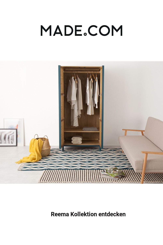 Made Kleiderschrank Helles Holz In 2020 Home Decor Furniture Home