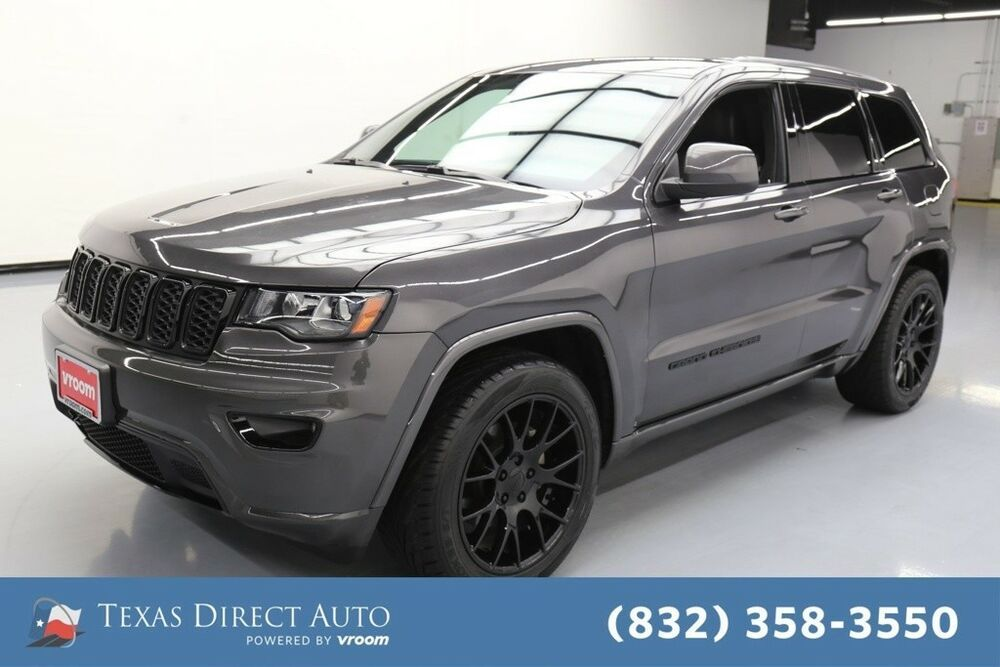 For Sale 2018 Jeep Grand Cherokee Altitude Texas Direct