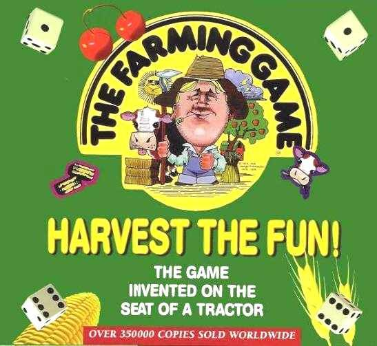 The Farming Game, invented on the seat of a tractor. I'm not anywhere near a farmer, but this brought many hours of fun at my grandparents!