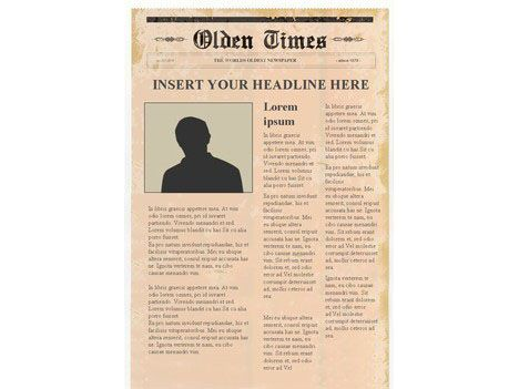 This Website Has Some Great Templates Editable Newspaper Template