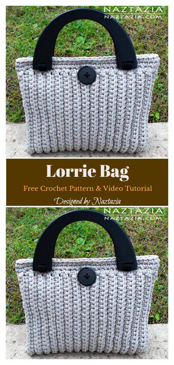 Lorrie Bag Free Crochet Pattern And Video Tutorial Crochet