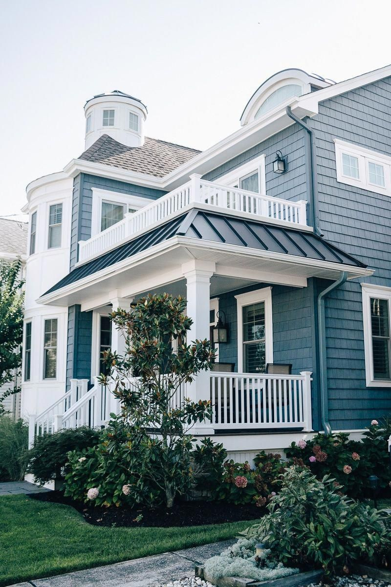 Beach Town Curb Appeal Check Out These Beautiful Beach Homes From