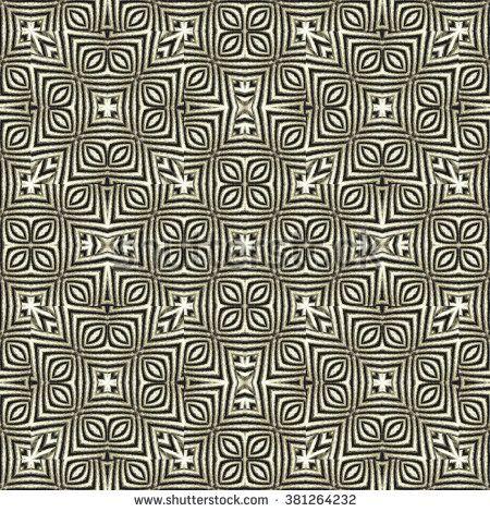 Digital art technique ethnic abstract geometric ornate artwork seamless mirrored…