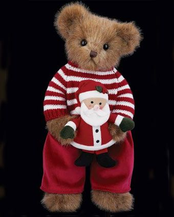 Bearington Christopher And Claus Bear Christmas Teddy Bear Bear Stuffed Animal Teddy Bear Picnic